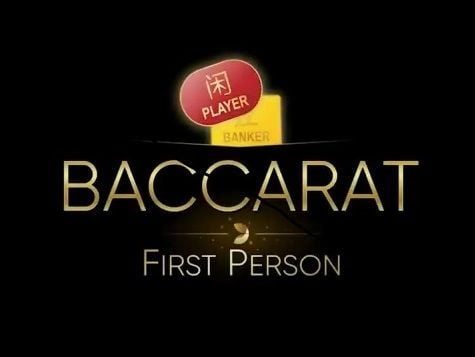 first person baccarat evolution